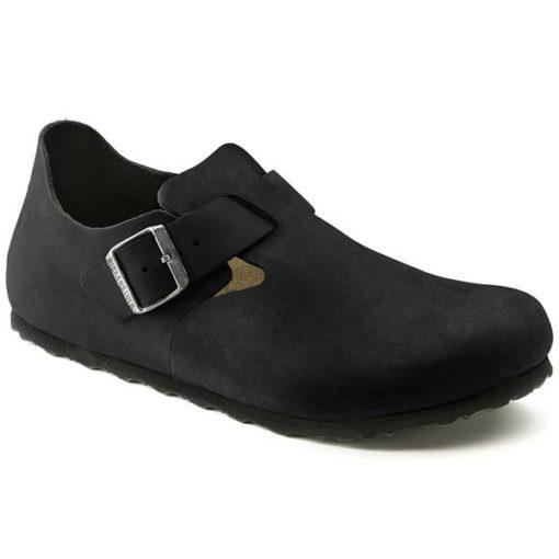 Birkenstock London Black Oiled Leather