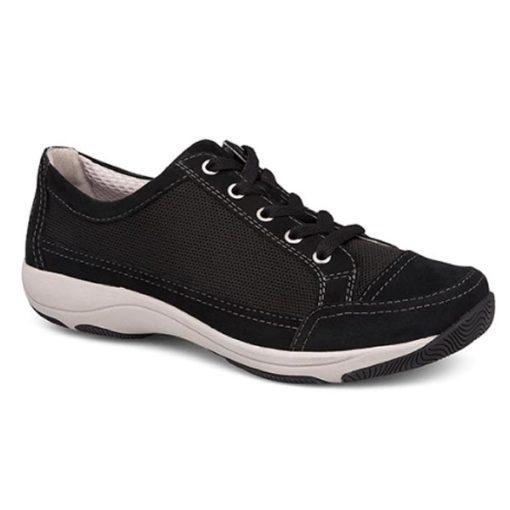 Harmony Black Suede Leather