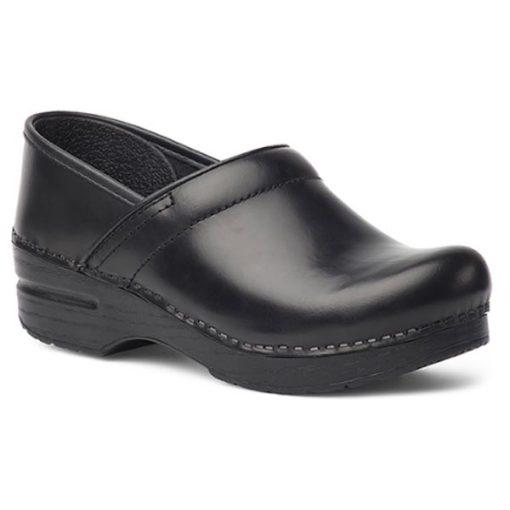 Dansko Professional Clog Black Cabrio Leather Medium