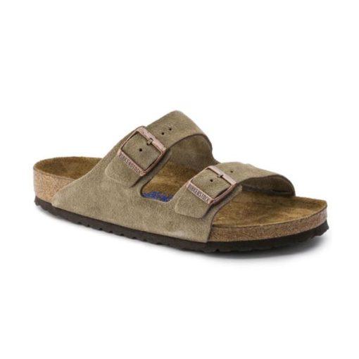 Birkenstock Arizona Soft-Footbed Taupe Suede