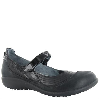 Naot Women's Kirei Black Leather