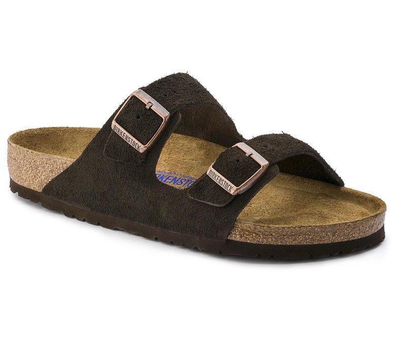 Birkenstock Arizona Soft-Footbed Mocha Suede