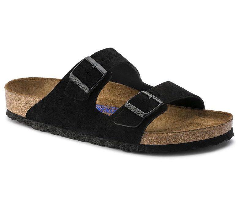 Birkenstock Arizona Soft-Footbed Black Suede