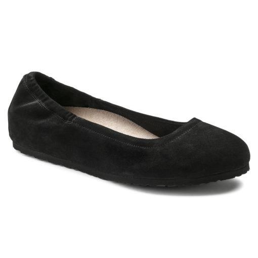 Birkenstock Women's Celina Black Suede Leather