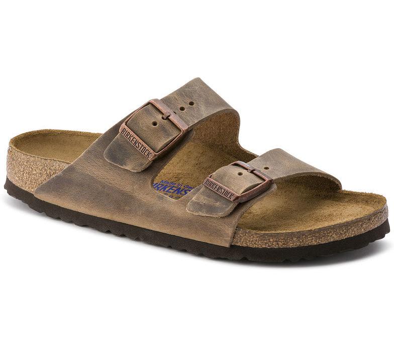 Birkenstock Arizona Soft-Footbed Tobacco Oiled Leather Regular