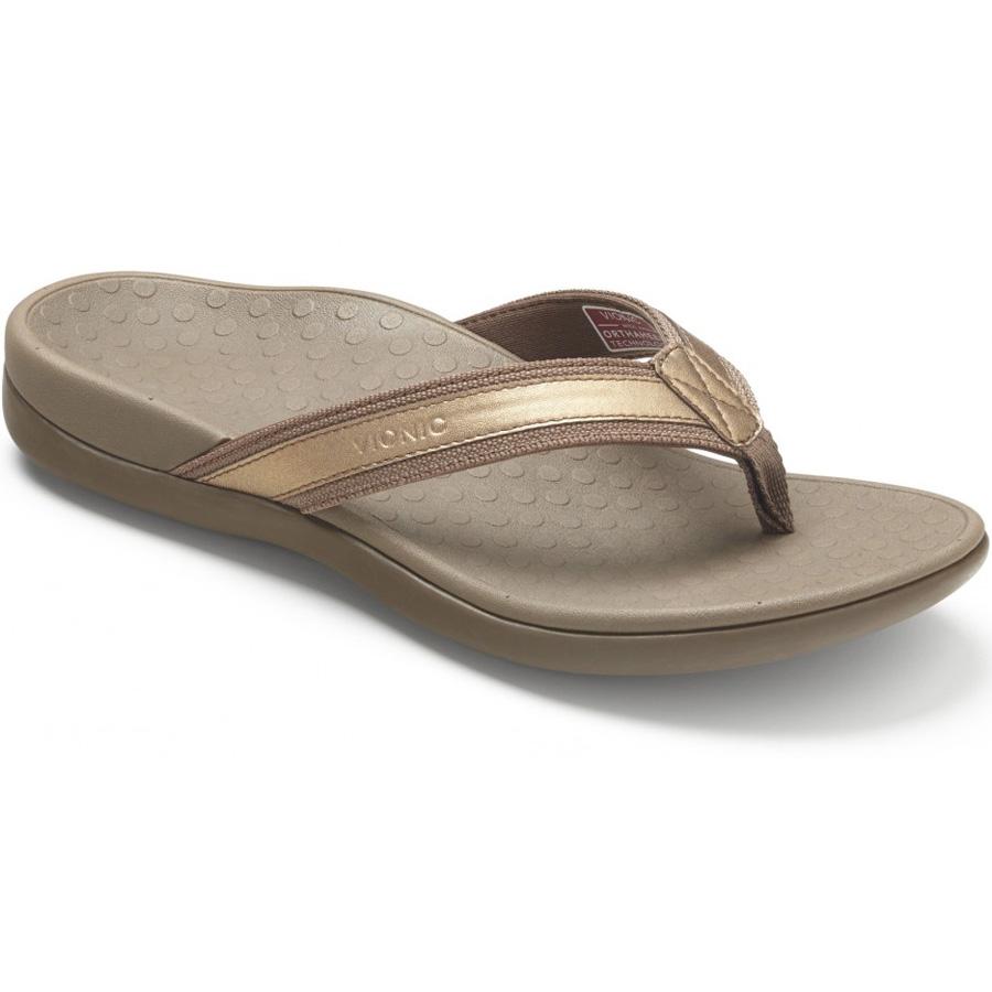 Vionic Tide II Thong Sandal Orthaheel Technology Women/'s Orthotic Flip Flop