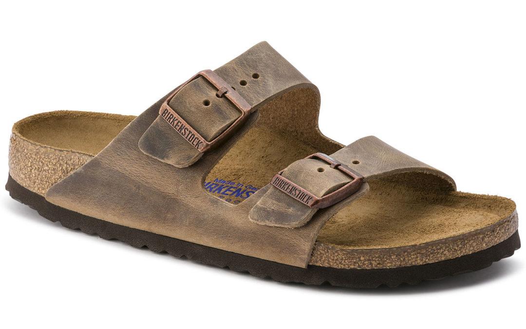 Birkenstock Arizona Soft-Footbed Tobacco Oiled Leather Narrow