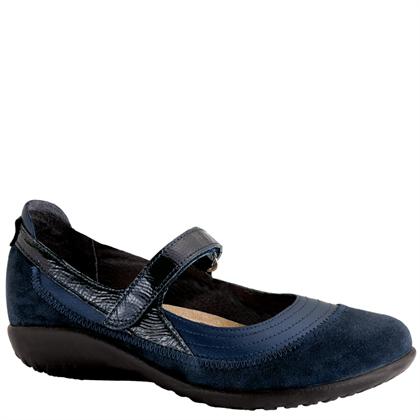 Kirei Polar Sea/Blue Suede/Navy Patent Leather Medium