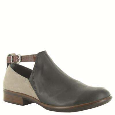 Naot Women's Kamsin Jet Black Leather/Stone Nubuck/Luggage Leather