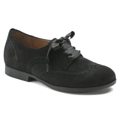 Birkenstock Women's Laramie Low Suede Leather Black