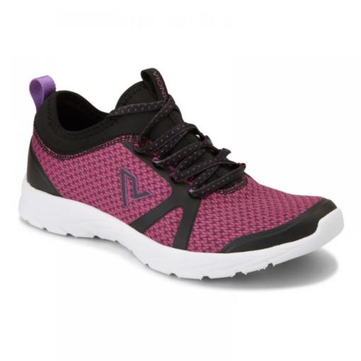 Vionic Women's Alma Sneaker Black/Pink