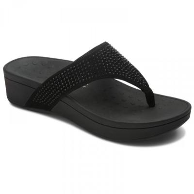 Vionic Women's Naples Platform Sandal Black