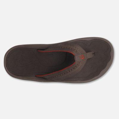 Olukai Men's Hokua Sandal Dark Java