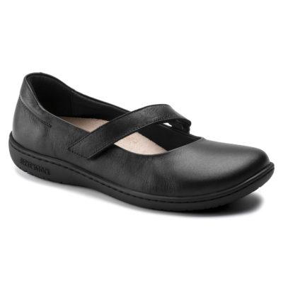 Birkenstock Women's Lora Natural Leather Black