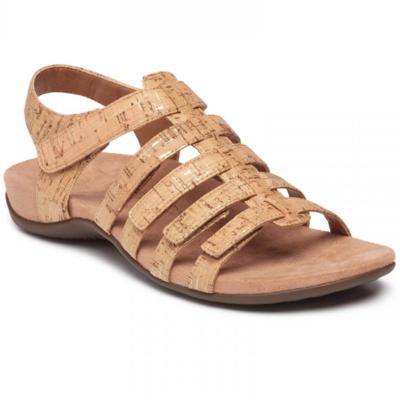 Vionic Women's Harissa Sandal Gold Cork