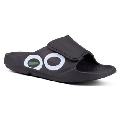OOfos OOahh Sport Flex Sandal Black