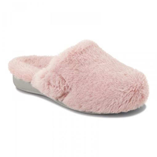 Vionic Women's Gemma Plush Slippers Blush