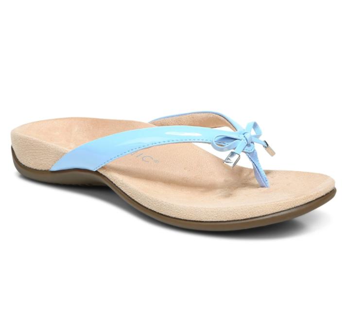 Vionic Women's Bella II Toe-Post Sandal Bluebell